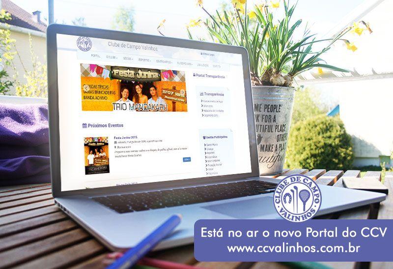 Novo Portal do CCV